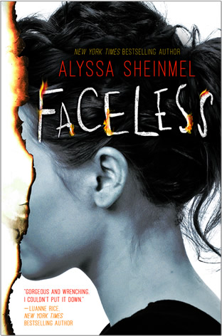 Faceless by author Alyssa B. Sheinmel