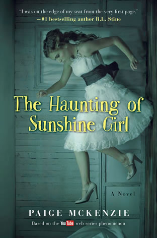 The Haunting of Sunshine Girl by author Alyssa B. Sheinmel