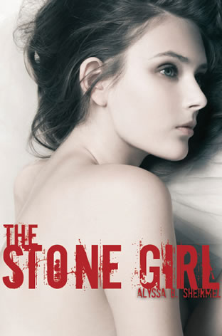 The Stone Girl by author Alyssa B. Sheinmel